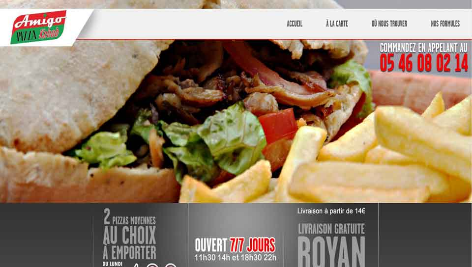 amigo pizza Royan