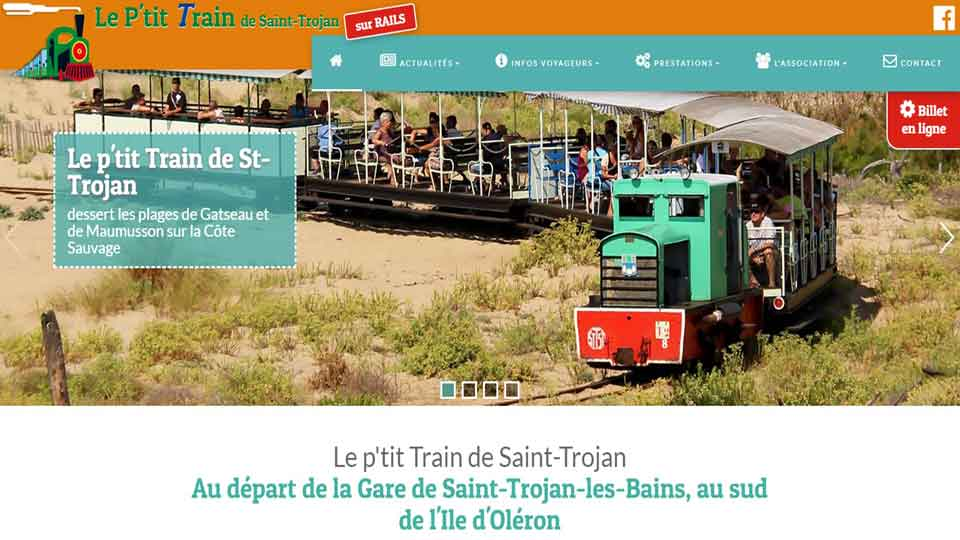 Le P'tit Train de Saint-Trojan Oléron