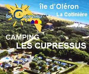 camping les cupressus oléron