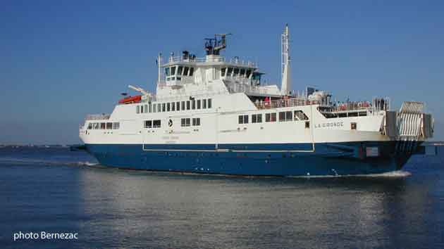 bac-ferry Royan Le Verdon le Gironde