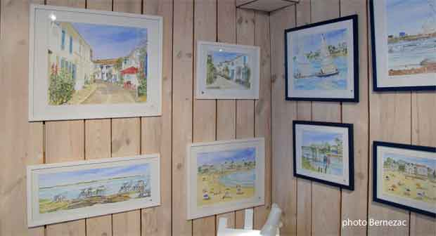 Mornac aquarelles
