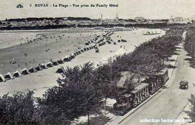 Royan, le tramway Decauville