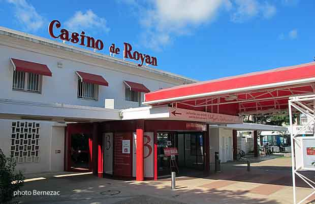 Pontaillac, le casino de Royan