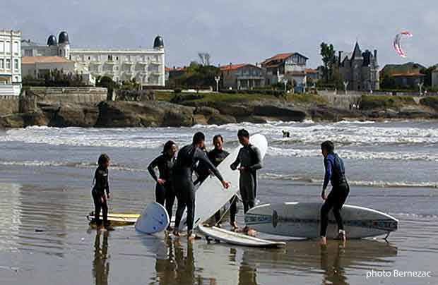 Royan Pontaillac, spot surf