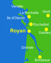 carte position royan